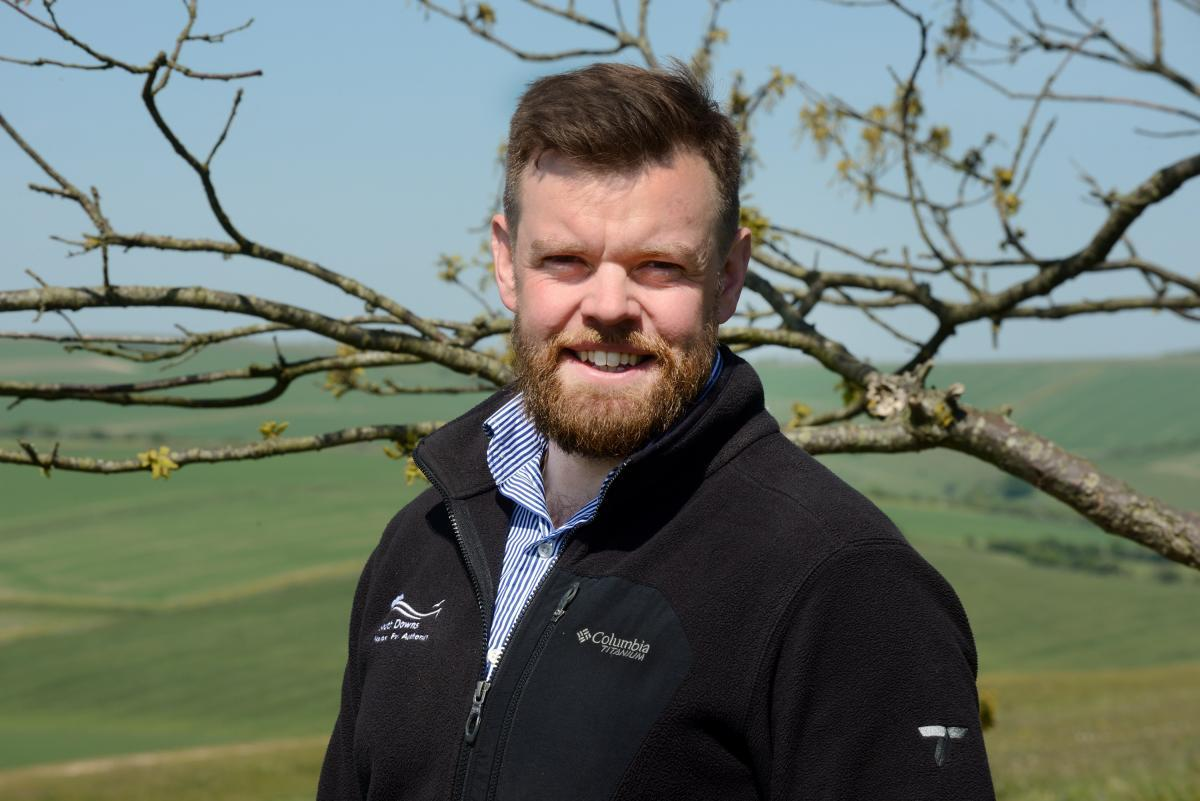 Jonathan Dean Education Officer for South Downs National Park